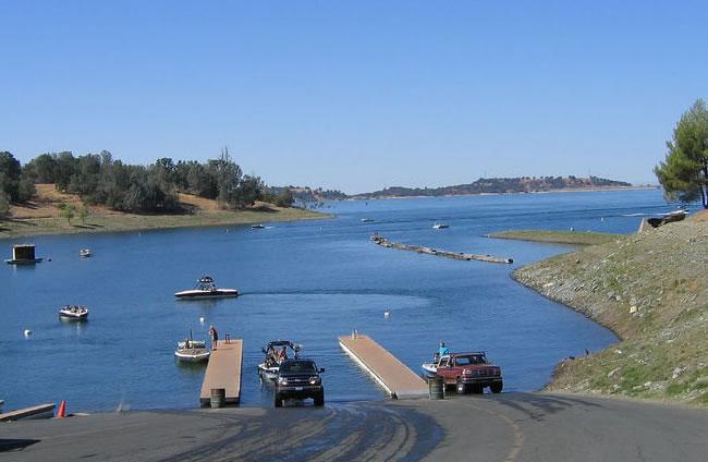 Folsom Lake Boat Launch