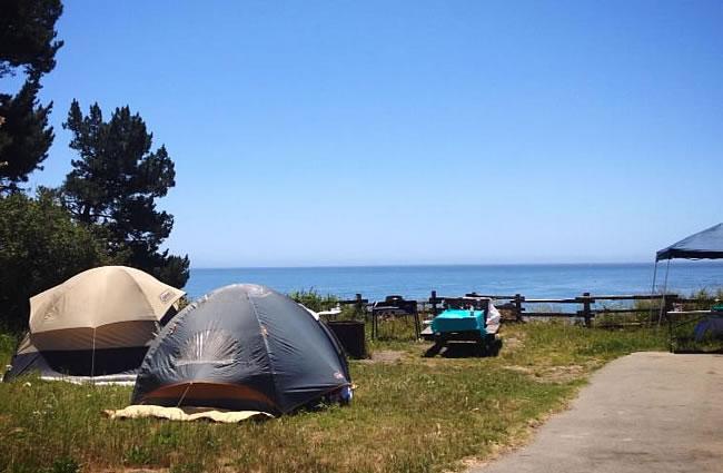 New Brighton State Beach Camping