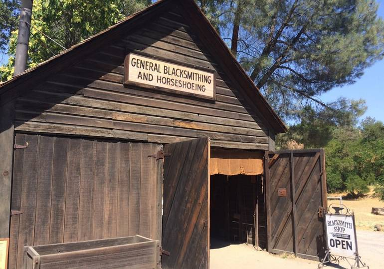Blacksmith Shop Coloma California