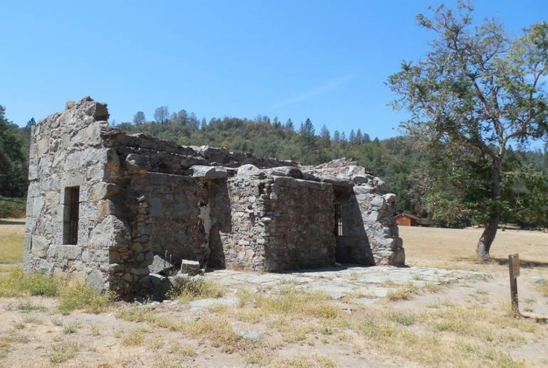 Marshall Gold Discovery Park Old El Dorado County Jail