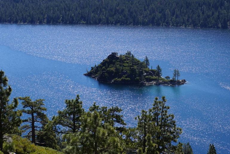 Fannette Island Lake Tahoe