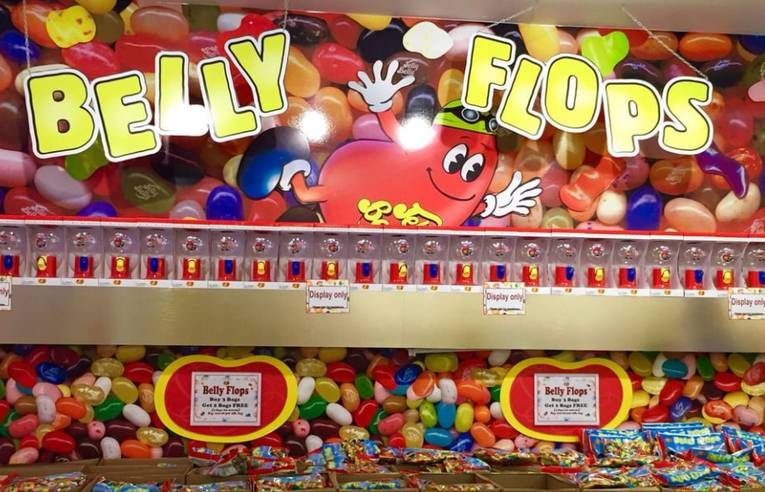 Jelly Belly Factory Tour Belly Flops
