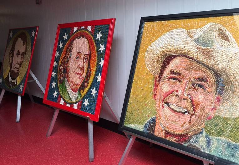 Jelly Belly Factory Tour President's Portraits