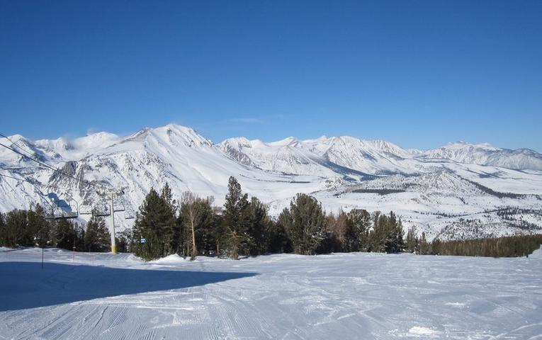 June Mountain Winter