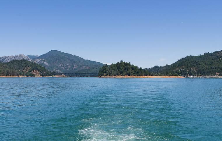 California Lakes Lake Shasta