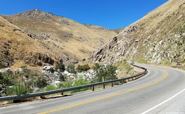 Highway 178 Lower Kern Canyon