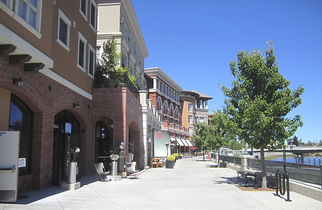 Downtown Napa River Walk