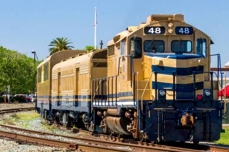 Sierra Railroad Dinner Train Oakdale California