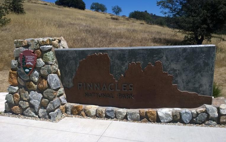 Pinnacles National Park Entrance