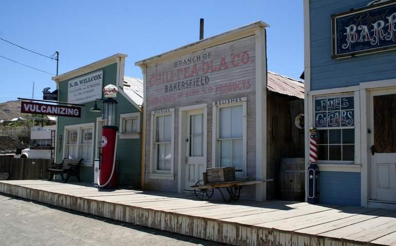Randsburg California Living Ghost Town