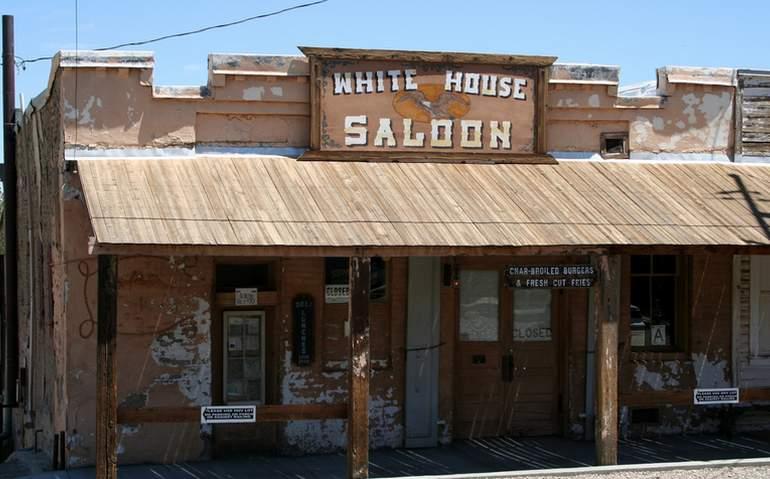 Randsburg Ghost Town White House Saloon