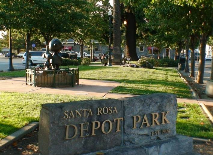 Downtown Santa Rosa Depot Park