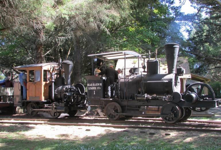 Fort Humboldt Steam Ups