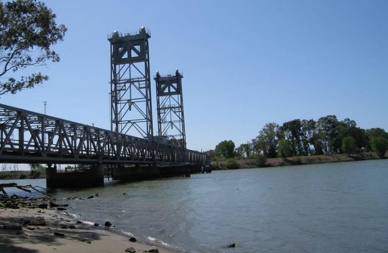 Three Mile Bridge Brannan Island