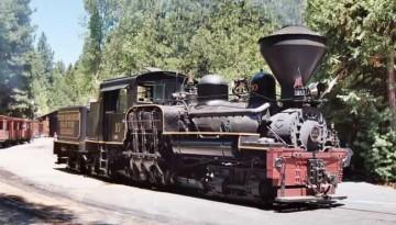 Yosemite Sugar Pine Steam Train