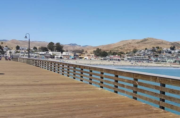 Cayucos By The Sea Pier