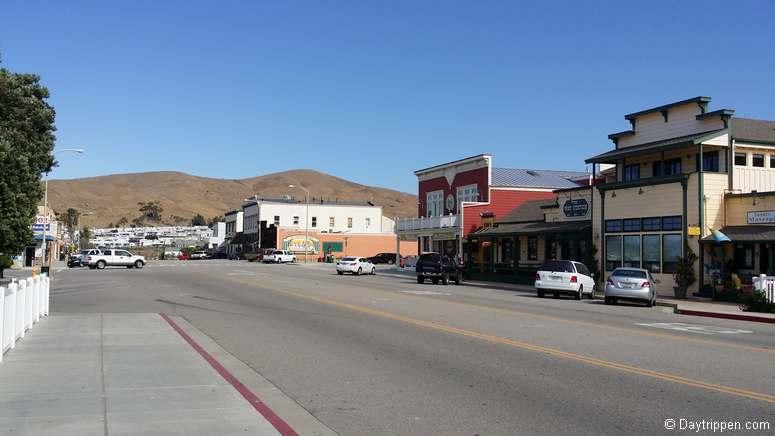 Downtown Cayucos California