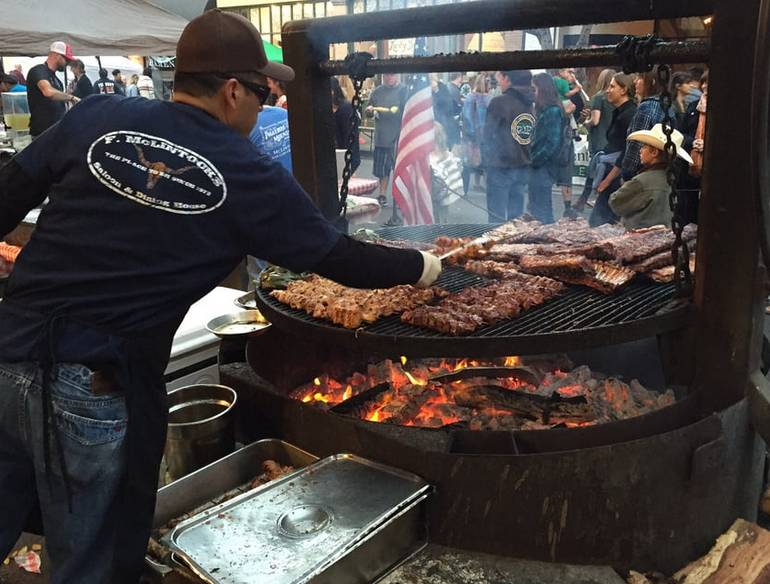 Downtown San Luis' Farmers Market
