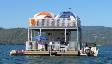 Lake Oroville Floating Campsites