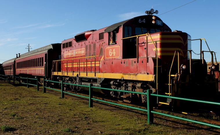 Skunk Train Fort Bragg