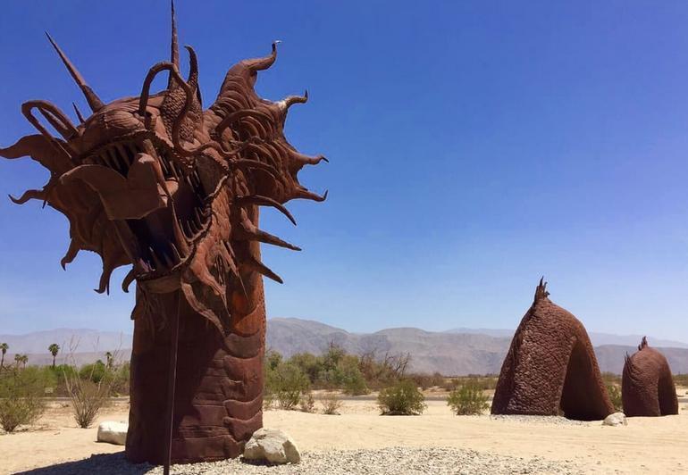 Borrego Springs Galleta Meadows Sculptures