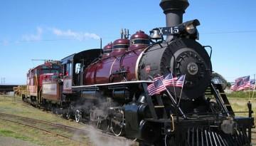 Top Ten California Train Trips