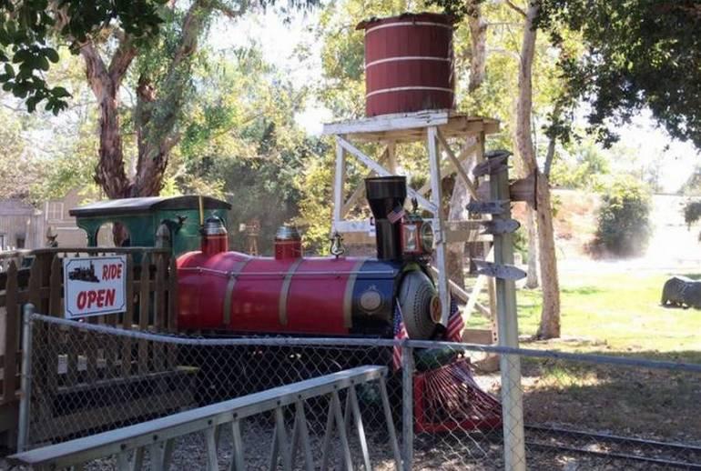 El Dorado Park Train Ride Long Beach