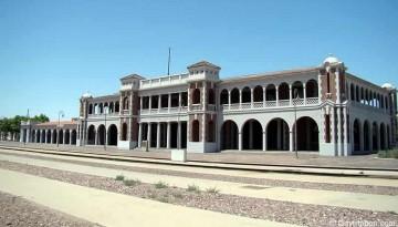 Harvey House Railroad Depot Casa Del Desert Barstow