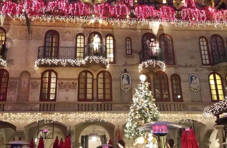 Mission Inn Christmas Lights