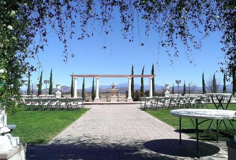 Wedding area