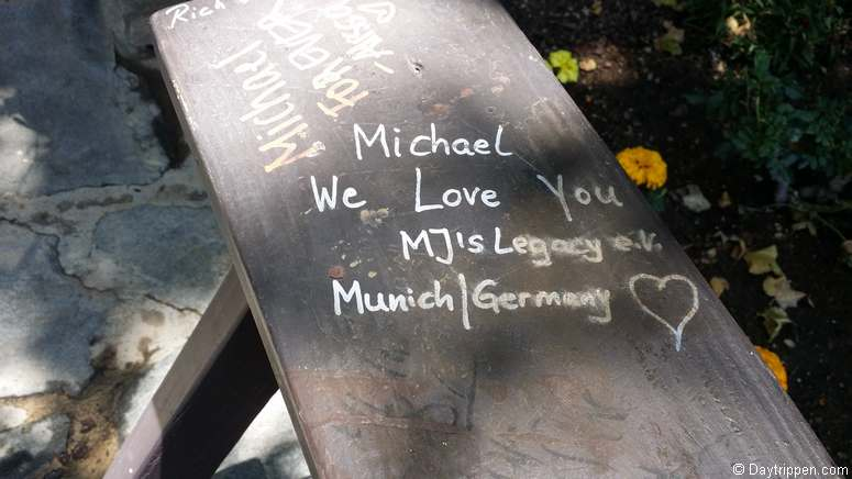 Message to Michael Jackson from Germany