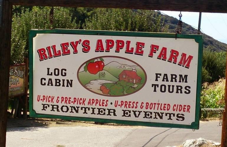Day Trip to Riley's Farm Oak Glen