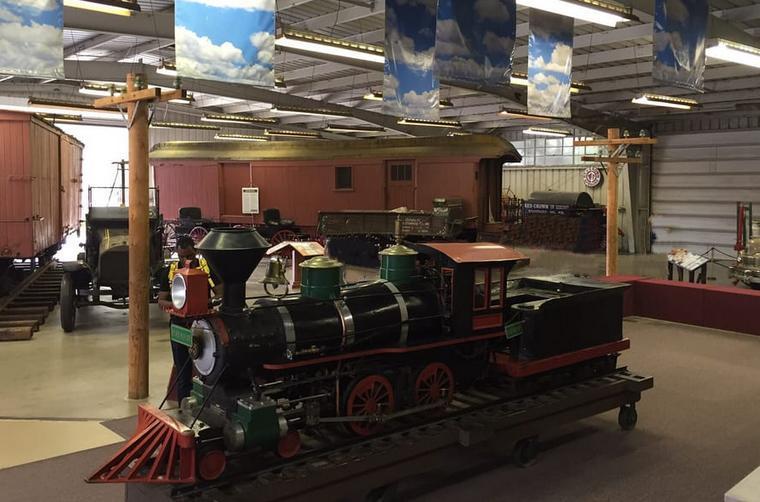 Train Museum Griffith Park