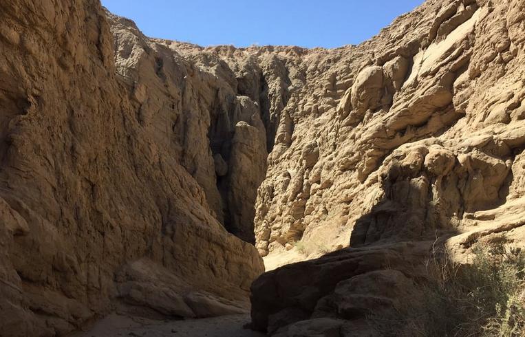 Anza-Borrego Desert State Park Slot Canyon Entrance