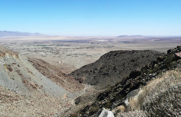 Anza-Borrego Desert State Park Borrego Springs View