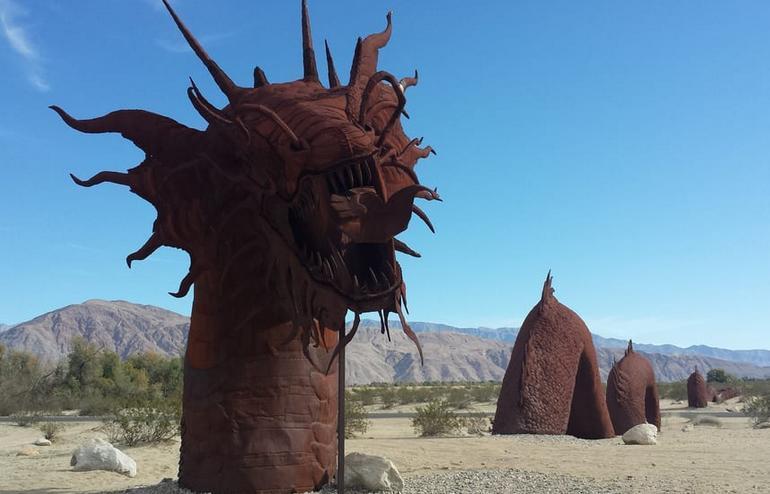 Borrego Galleta Meadows Metal Sculptures