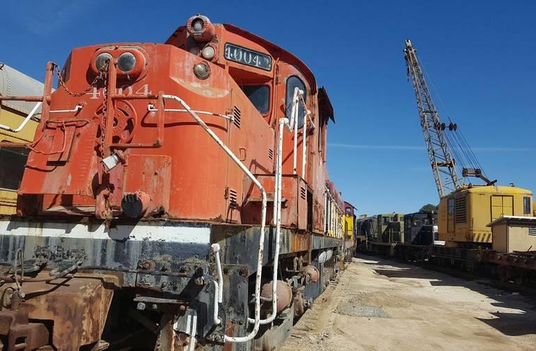 Campo Train Museum Pacific Southwest Railway