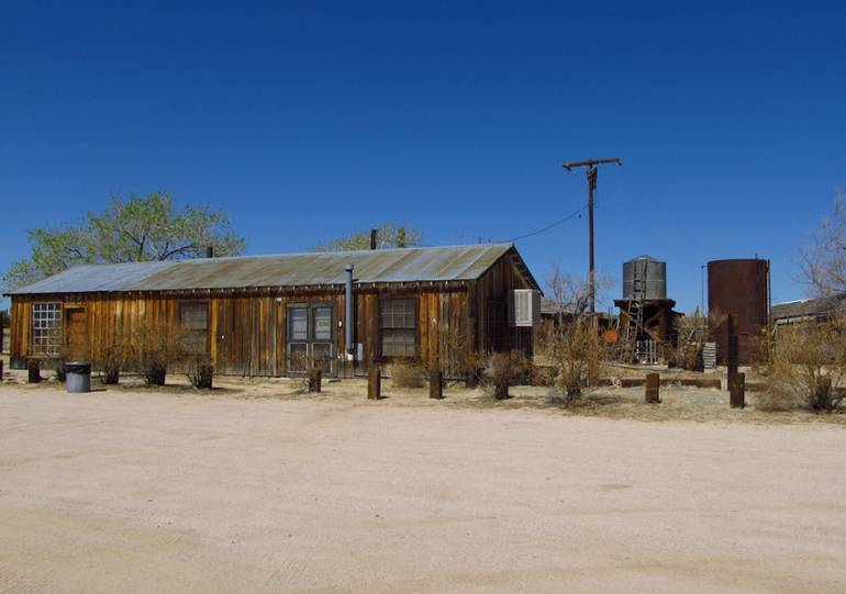 Cima Ghost Town Mojave National Preserve