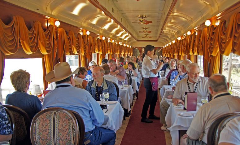 Dining on the Napa Valley Wine Train