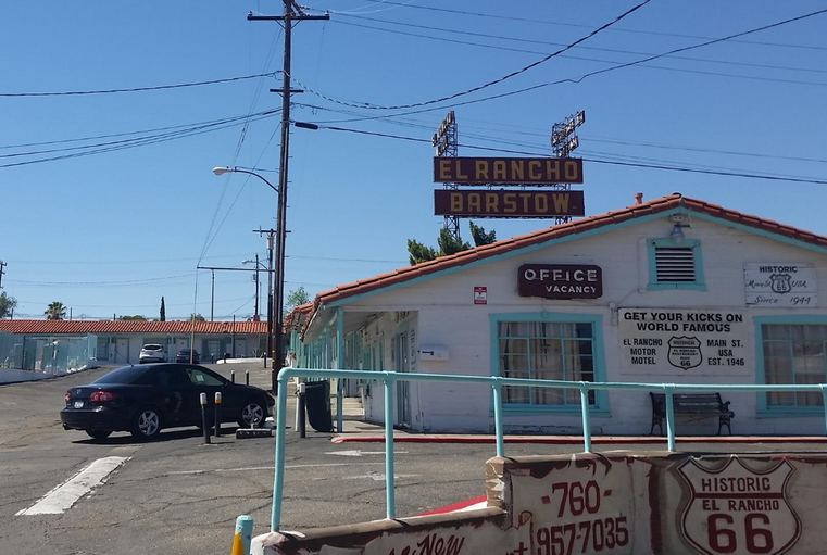 El Rancho Motel Barstow