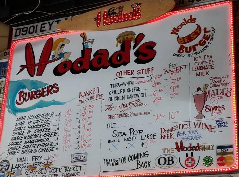 Hodad Burgers Ocean Beach San Diego