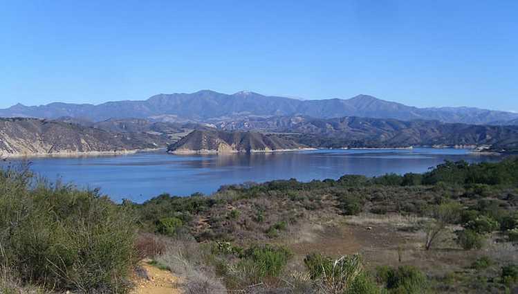 Lake Cachuma Santa Barbara County
