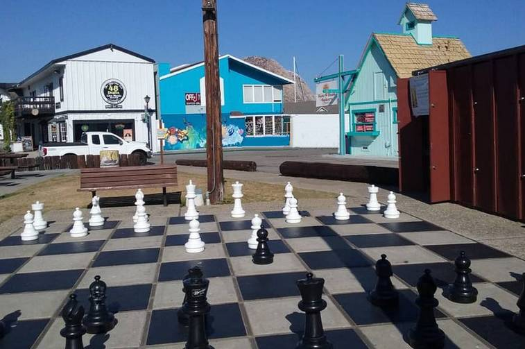 Giant Chessboard Morro Bay