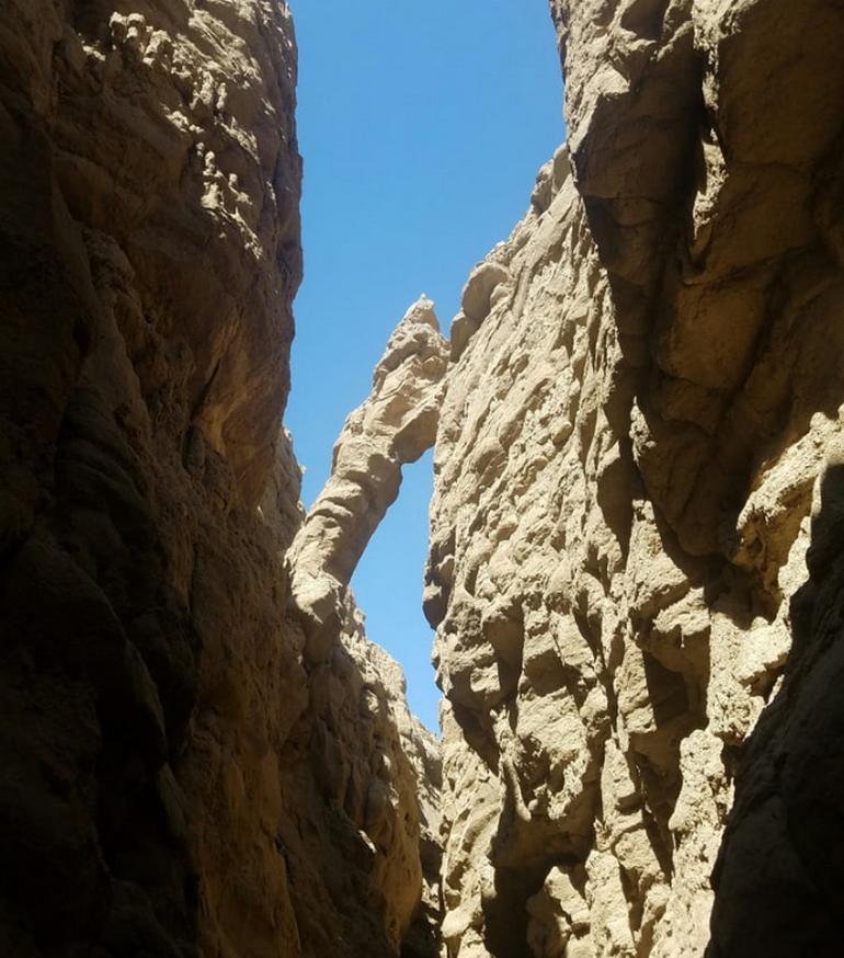 Anza-Borrego Desert State Park Slot Canyon