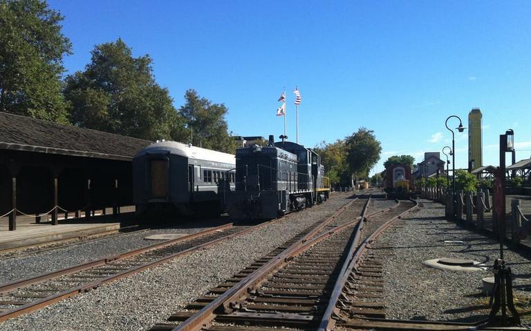 Old Town Sacramento Train Station