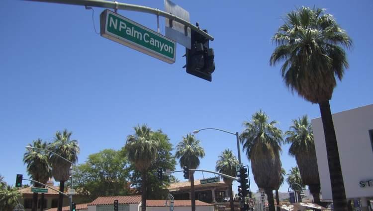 Palm Canyon Drive Downtown Palm Springs