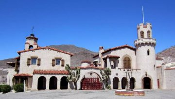 Scotty's Castle Mansion Death Valley
