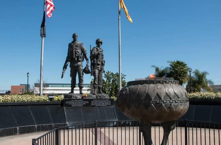 Vietnam War Memorial Westminster California