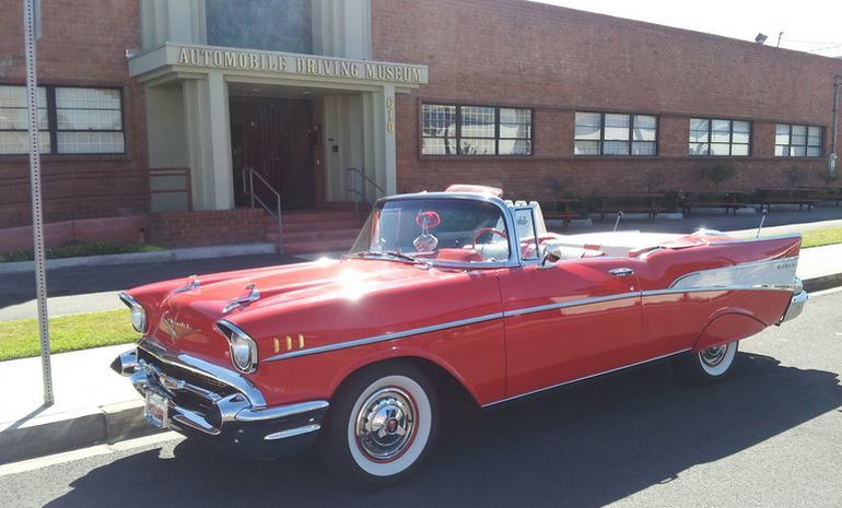 Automobile Driving Museum Vintage Car Rides