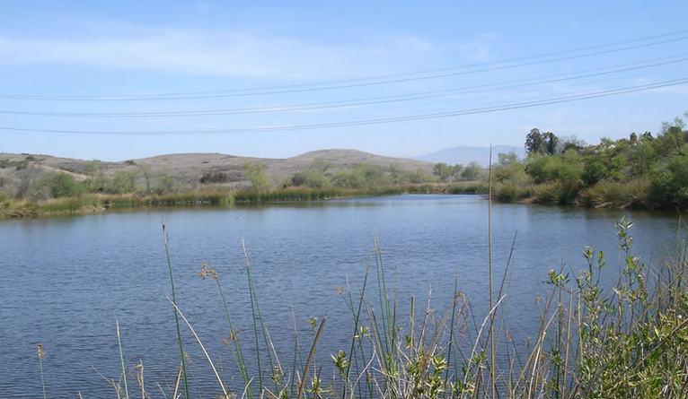 Barbara's Lake Laguna Canyon